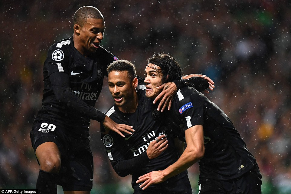 6-0's, 5-0's,3-0's: PSG, Chelsea, Barca & Man U dominate Champions League night of goals!