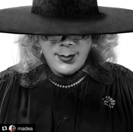 Lol. Tyler Perry joins other celebrities to recreate Beyonce's iconic photo
