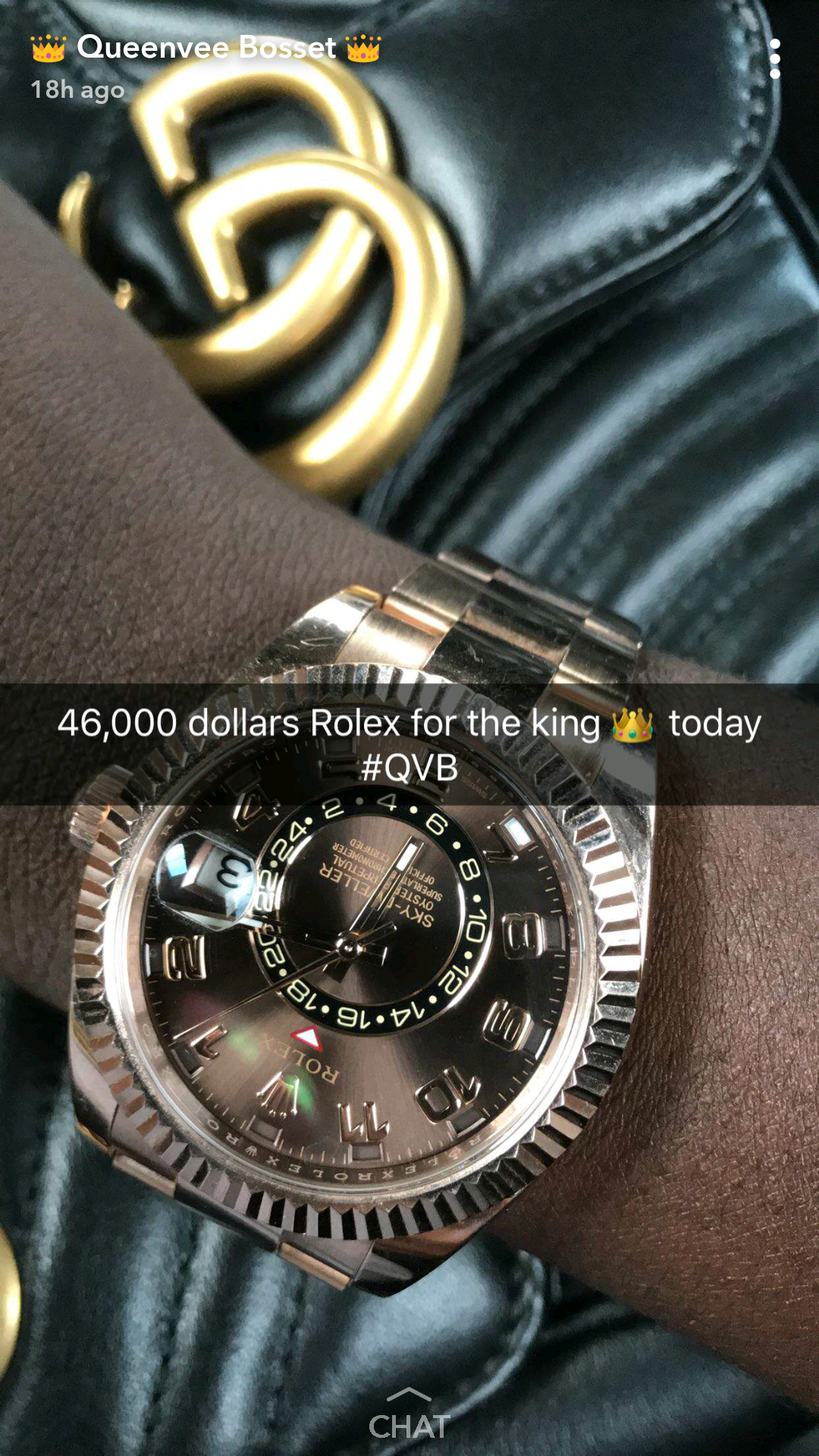 Vera Sidika shares photo of her mysterious Nigerian bae wearing a $46,000 rolex watch