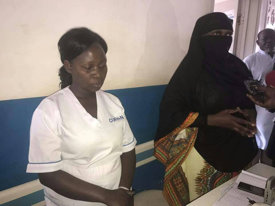 Photos: Uganda's Minister of Health disguised herself for a visit to a general hospital where she discovered patients have to bribe to get treatment.