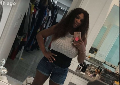Serena Williams shows off impressive post-baby weight loss in new photo