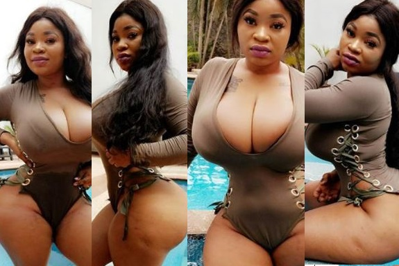 Instagram Star, Roman Goddess Flaunts Her  killer Curves In New Bikini(Photos)