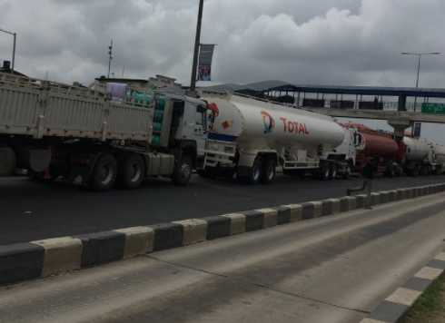 """We can't enforce parking for petrol tankers because we are not armed""- LASTMA GM says"