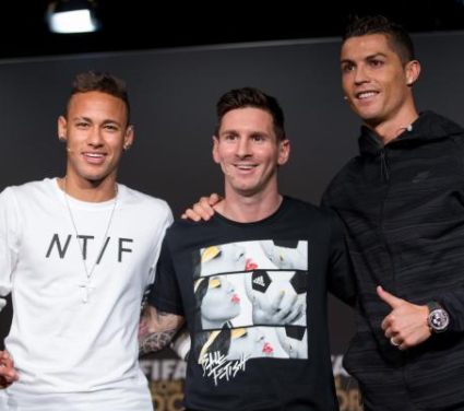 Ful List: Ronaldo, Messi and Neymar make shortlist of 2017 FIFA Football Awards