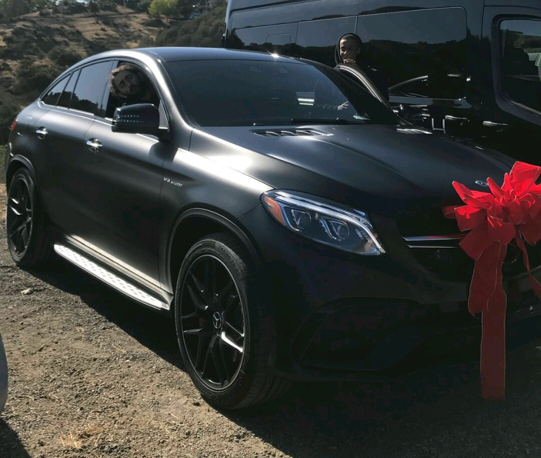 Kylie Jenner surprises best friend Jordyn Woods with a 2017 Mercedes-Benz AMG GLE 63 Coupe for her birthday
