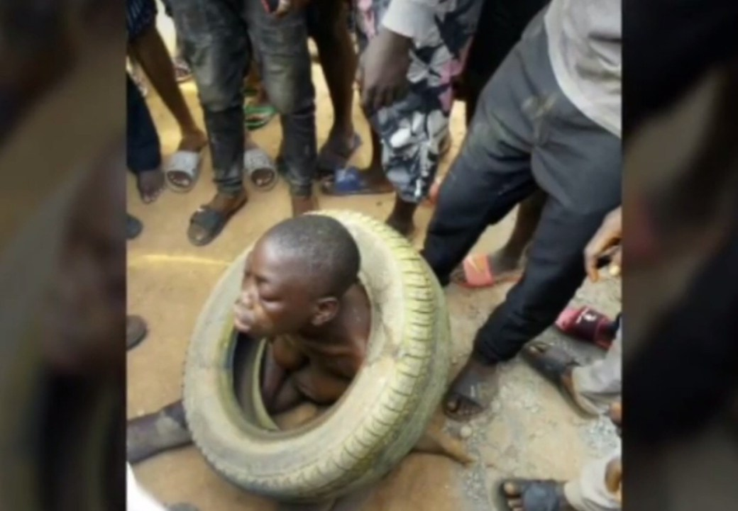 Police rescue suspected female kidnapper caught with a schoolboy in Lagos