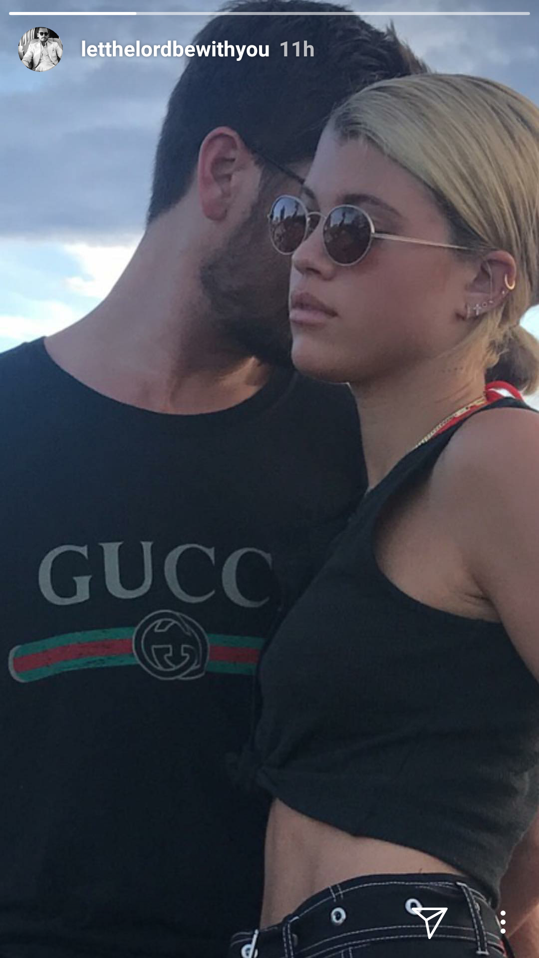 What Backlash? Sofia Richie & Scott Disick go public with their relationship on social media
