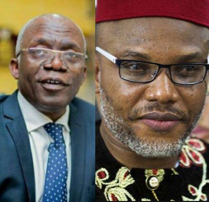 """Nnamdi Kanu might have relocated to the UK""- Femi Falana says"