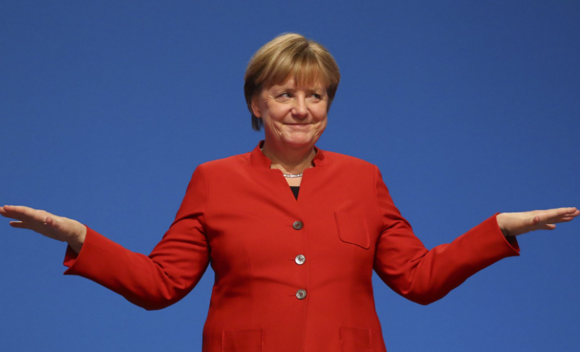 Angela Merkel wins a fourth term as German Chancellor