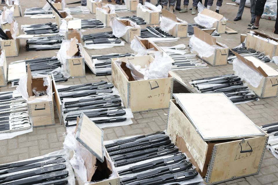 Illegal importers of 661 rifles plead guilty