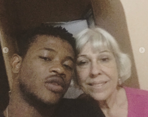 Nigerian man who made headlines after marrying elderly white woman shares new selfies to prove they