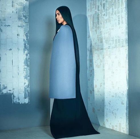 Kim Kardashian wows on the cover of T Singapore magazine