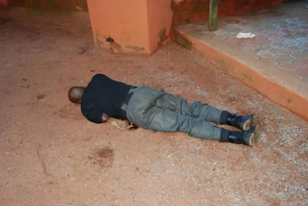 Graphic photos of the policemen shot dead by kidnappers while trying to stop abduction of Daisy Danjuma