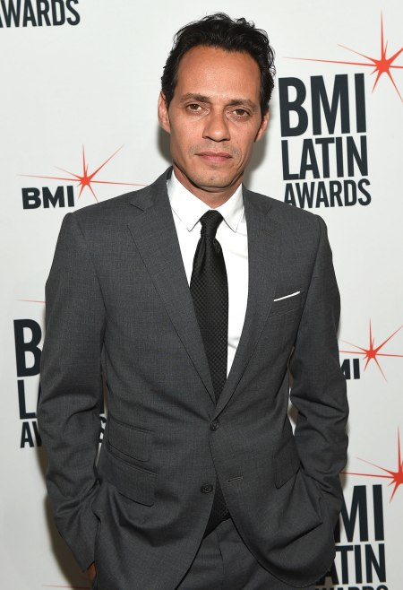 Marc Anthony takes aim at Trump for