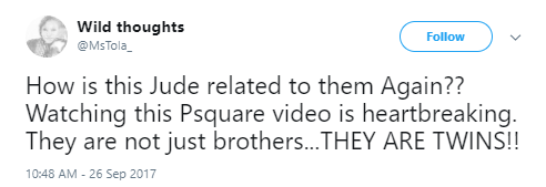 Nigerians on twitter react to the LIB exclusive video of Psquare brothers having an altercation at their lawyer