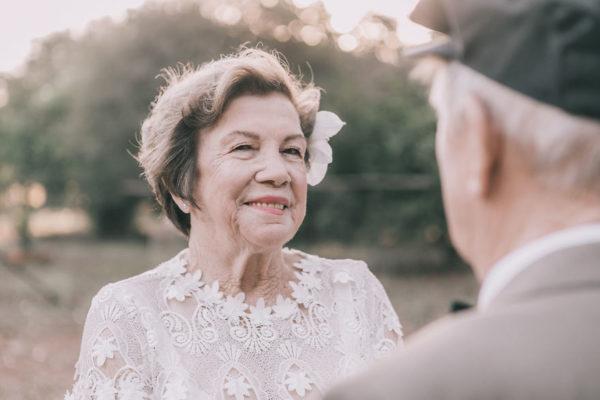 Brazilian couple finally have wedding photos taken 60 years after their wedding