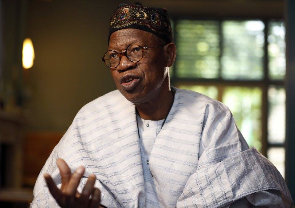 """President Buhari?s health is a private matter even if the government is paying for it"" Lai Mohammed  says"