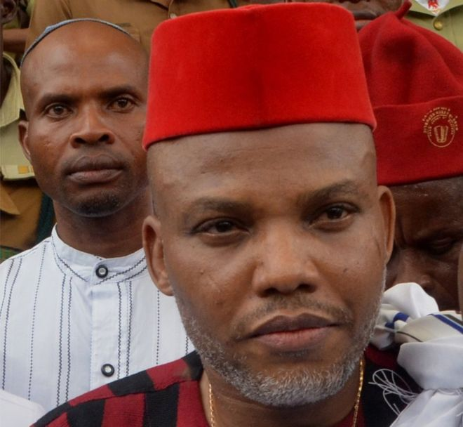 """Release Nnamdi Kanu?s corpse if you have killed him""- Brother to IPOB leader tells Army"