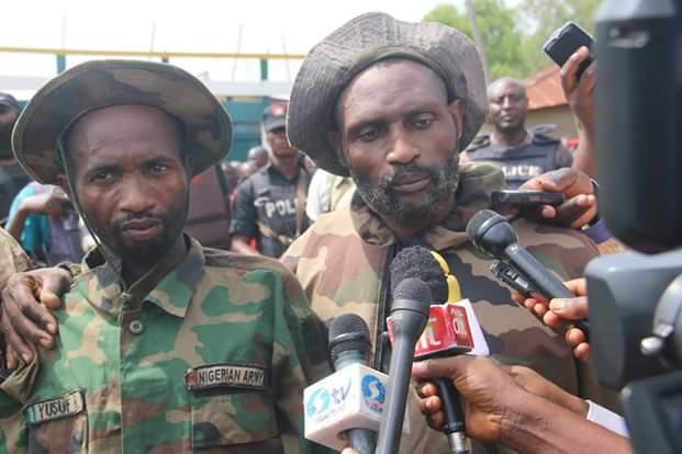 Photos: Police parade 31 vicious and notorious kidnap, armed robbery gangs terrorizing Abuja-Minna-Kaduna Highways