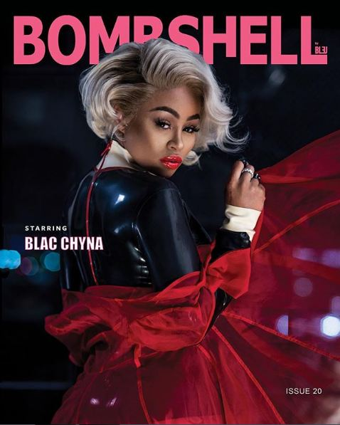 Blac Chyna stuns on the cover of Bombshell magazine