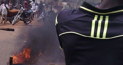 Boy set ablaze over missing phone in Enugu