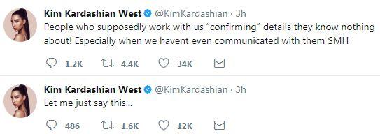 Kim Kardashian claims they didn
