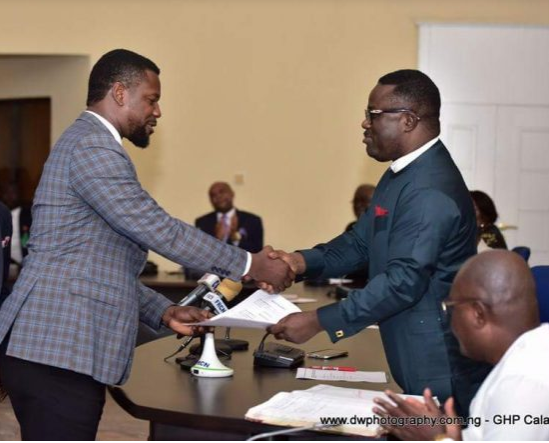 Governor Ben Ayade appoints Nollywood actor, Eric Anderson?as Commissioner of Tourism, Culture and Heritage in Cross River State