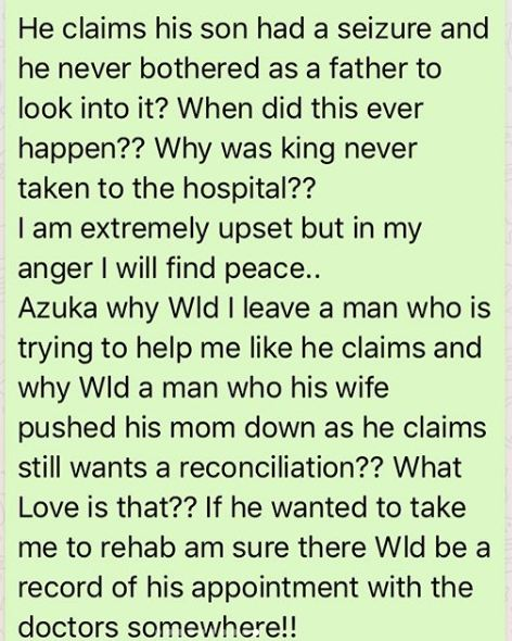 """""""After 7 domestic violence incidences and miscarriages, I curse you today!"""" Tonto Dikeh blasts Azuka Ogujiuba who said she lied against her ex-husband, reveals more sordid details about Churchill"""