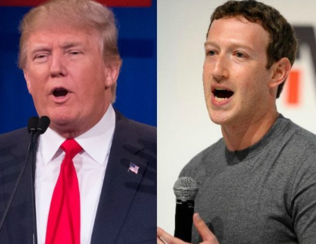 Every day I work to bring people together and build a community - Mark Zuckerberg reacts to Donald Trump