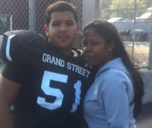 Update: New York teen who choked his mother?s ex-boyfriend to death after seeing him beat her, has manslaughter charges dropped