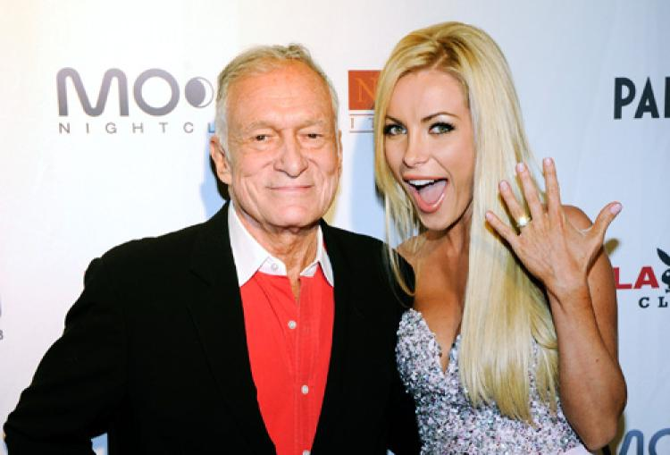 Hugh Hefner S Wife Crystal Harris Will Reportedly Inherit Nothing