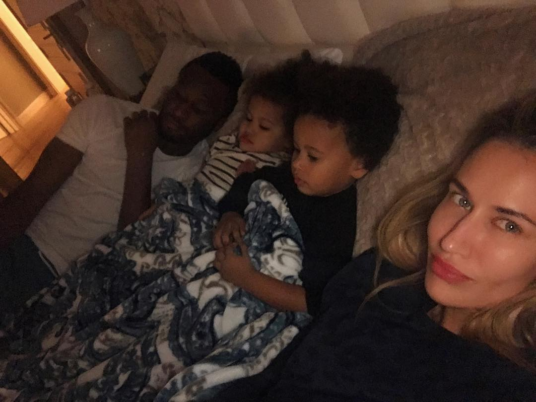 Footballer Mikel Obi shares cute selfies with his family
