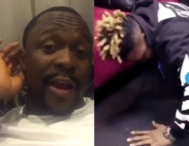 You f**k up - Comedian Ushbebe calls out Reekado Banks for joining viral 'One Corner' dance (Video)