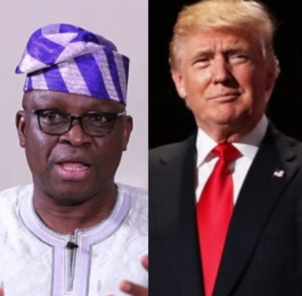 Fayose declares to run for President and Nigerians think he