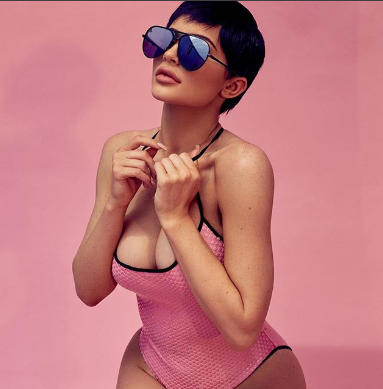 Photos: Kylie Jenner stuns in different poses for Quay Australia