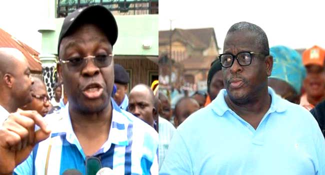"""His anti-depressant drugs can no longer contain him"" ? Senator Kashamu mocks Governor Fayose presidential declaration"