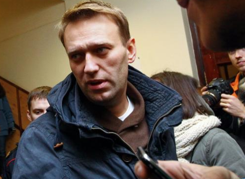 Russian opposition leader, Alexei Navalny?arrested?