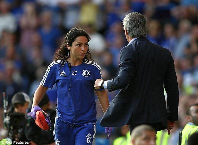 Ex-Chelsea doctor, Eva Carniero reveals her football hatred after Jose Mourinho beef