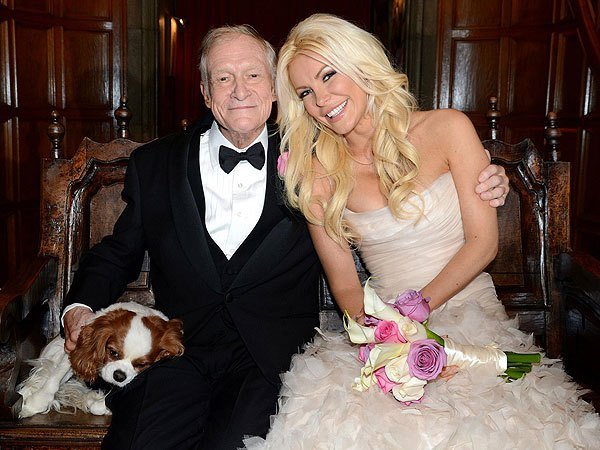 Turns out Hugh Hefner left his wife, Crystal Harris with an LA Mansion in her name & $5m