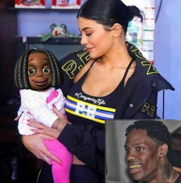The internet has decided how Kylie Jenner & Travis Scott's daughter would look like!