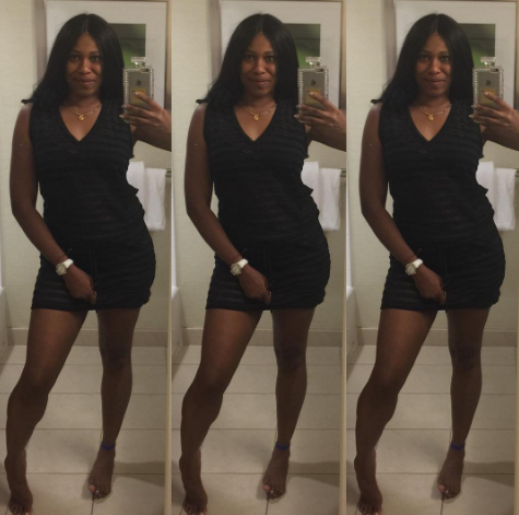 Ex-Beauty Queen Regina Askia-Williams Looking Lovely In New Selfies.