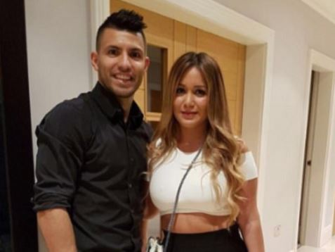 Manchester City striker Sergio Aguero dumped by his popstar girlfriend just two days after car crash