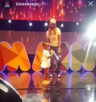 """I don?t want my son to do music but he keeps moving towards it? - Tiwa Savage"