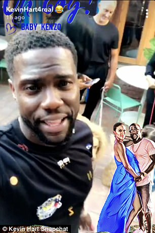 Kevin Hart throws wife lavish baby shower where they reveal baby