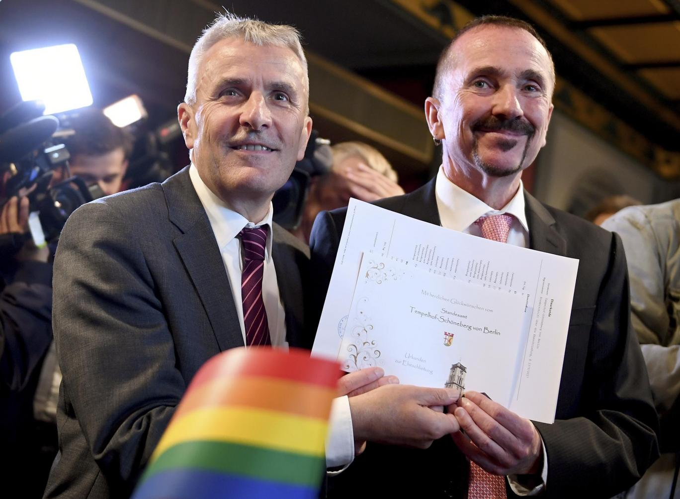 Photos: Germany holds first ever same-sex marriage in Berlin