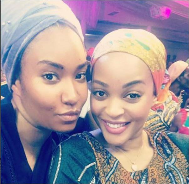 Adaeze Yobo, Anna Banner and Caroline Danjuma attend MFM?s ?7 hours of praise