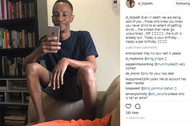 Caroline Danjuma shares photo of Tagbo who died yesterday, reveals today was his birthday