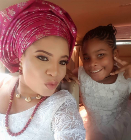 Actress Monalisa Chinda-Coker shares cute photo with her daughter