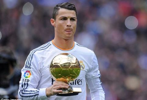 Cristiano Ronaldo sells his Ballon d
