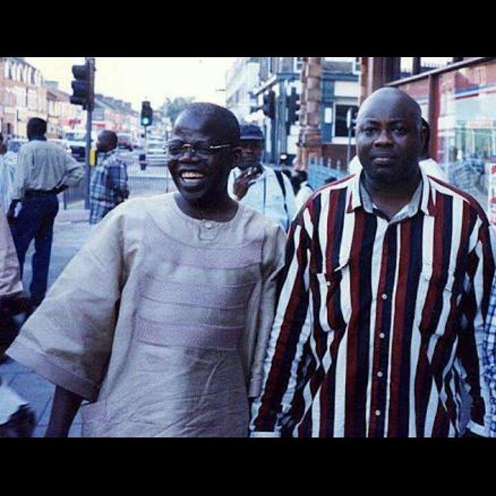 Major throwback photo of Dele Momodu & Bola Tinubu